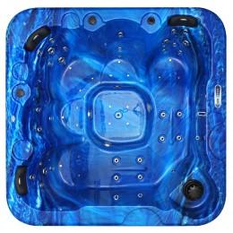 Jacuzzi spa exterior SPAtec 700B azul